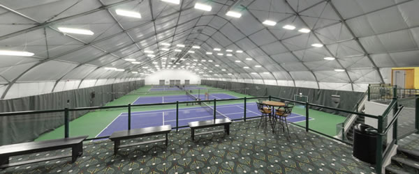 Inside The Steamboat Tennis Bubble