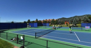 Outdoor Courts in Summer
