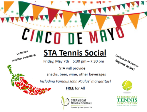 STA Cinco de Mayo FREE Tennis Play and Social