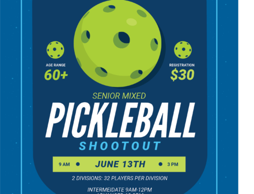 Seniors 60+ Pickleball Shootout